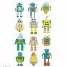 Naklejki 3D Roboty MAILDOR