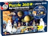 Puzzle Był sobie Kosmos + DVD. 260 elementów (2045)