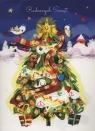 Karnet Radosnych świąt Choinka