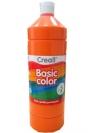 Farba tempera Creall Basic Color 1000ml - pomarańczowy nr 04