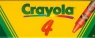 Kredki świecowe Crayola 4 sztuk (0004)