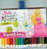 Kredki Bambino drewniane 18 kolorów z temperówką Barbie