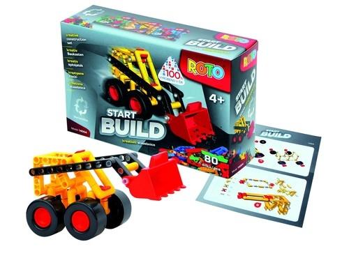 Klocki Roto Start Build 80 elementów