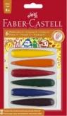 Kredki świecowe 6 kolorów Faber-Castell (FC120404)