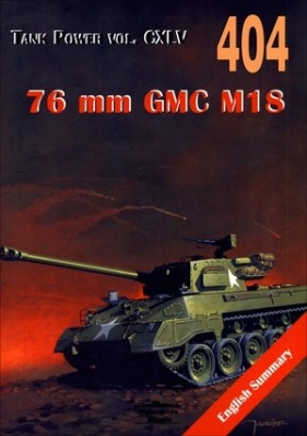 76 mm GMC M18. Tank Power vol. CXLV 404 `Hell Cat`