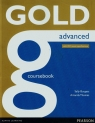 Gold Advanced Coursebook with 2015 exam specifications (Uszkodzona okładka) Burgess Sally, Thomas Amanda