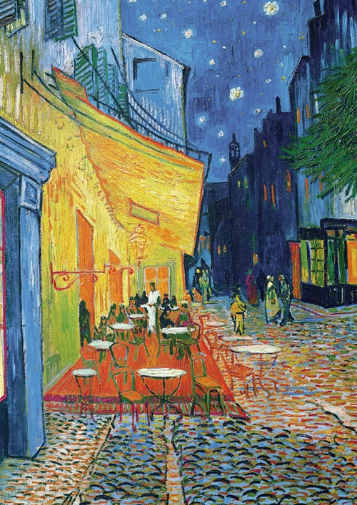Puzzle 1000 Piatnik van Gogh Taras