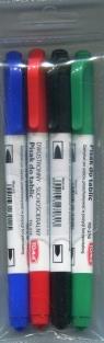 Pisaki dwustronne suchościeralne komplet TO-27003