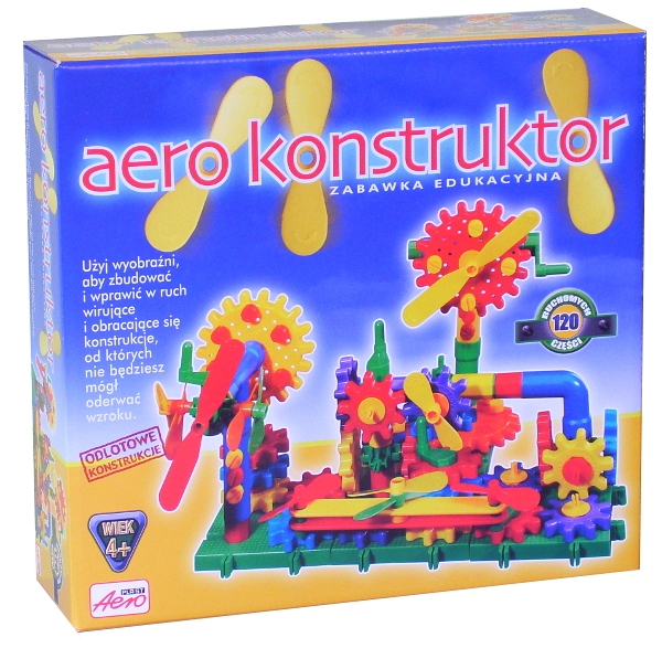 AEROPLAST KLOCKI AERO KONSTRUKTOR 120 cz (50047)