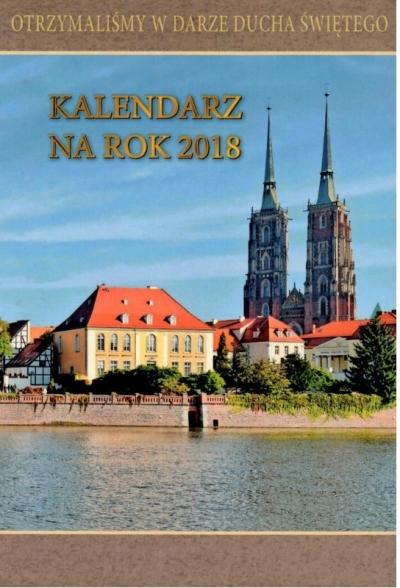 Kalendarz Archidiecezji Wrocławskiej 2018 praca zbiorowa