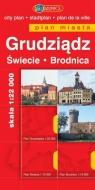 Grudziądz, Brodnica, Świecie. Plan miasta praca zbiorowa