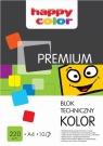 Blok techniczny A4/10 - kolorowy (HA 3722 2030-09) 220g/m2