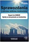 Sprawozdania z zakresu ochrony środowiska Raport do KOBiZE Opłaty za Szymkiewicz Norbert