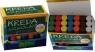 Kreda szkolna kolorowa 21 sztuk