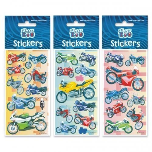 Naklejki Sticker BOO silver - Motocykle