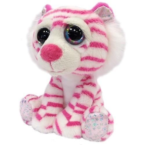 Tygrys różowy Bianca 15 cm