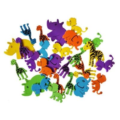 Naklejki z pianki - Zwierzęta