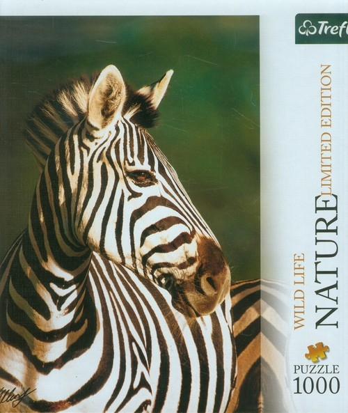 Puzzle 1000 Nature Zebra  (10504)