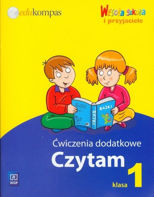 Wesoła szkoła i przyjaciele 1 Ćwiczenia dodatkowe Czytam Jędrzejewska-Wróbel Roksana