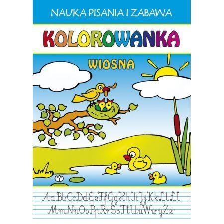 Kolorowanka Wiosna Guzowska Beata, Wlaźlak Tomasz