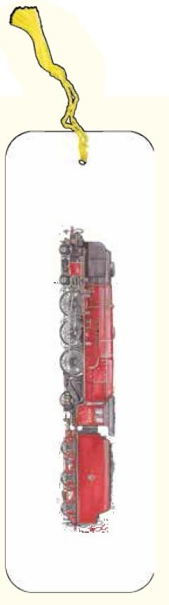 Zakładka do książki pociąg czerwony G07 41A 205