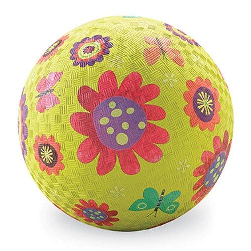 Piłka 7'', 18cm, wzór Ogród zielony