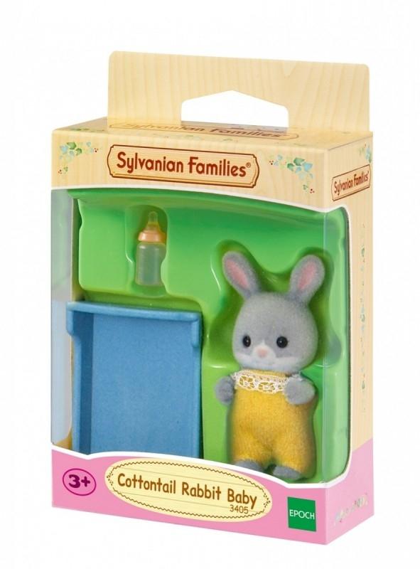 Dziecko szarych króliczków (3405)