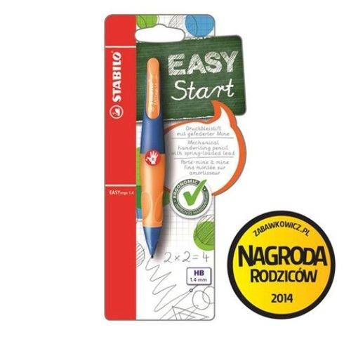 Ołówek Stabilo Easyergo 1,4 Start granatowo-pomarańczowy