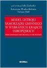 Model ustroju samorządu gminnego w wybranych krajach europejskich