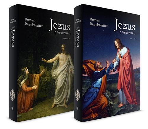 Jezus z Nazarethu. Pakiet, tomy 1-4 Brandstaetter Roman