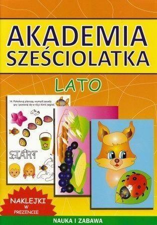 Akademia sześciolatka. Lato Guzowska Beata, Pawlicka Kamila