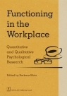 Functioning in the Workplace