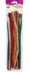 Dodatek dekoracyjny Craft-fun druciki kreatywne 0,8x30cm metalizowane
