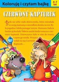 Koloruję i czytam bajkę - Czerwony Kapturek