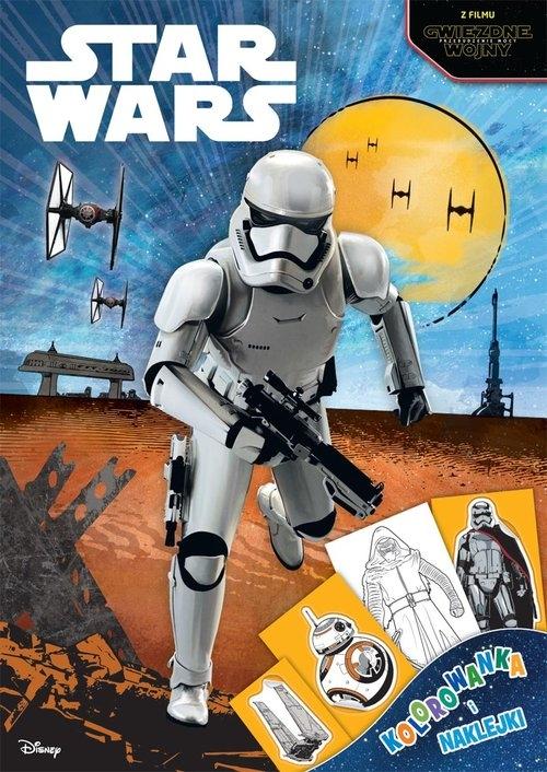 Star Wars Kolorowanka i naklejki