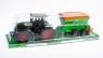 Traktor plastikowy z przyczepą