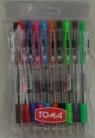 Długopis Fifty mix 10 kolorów TOMA