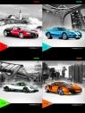 Zeszyt A5 Top-2000 w kratkę 60 kartek Powerfull Car Mix
