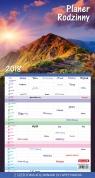 Kalendarz Planer rodzinny GÓRY 2018