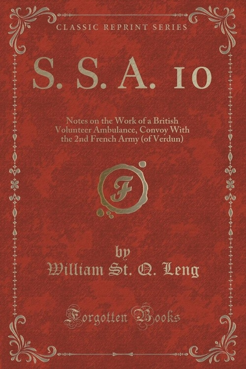 S. S. A. 10 Leng William St. Q.