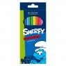 Kredki ołówkowe 12 kolorów Smerfy 257018 .