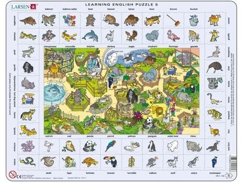 Nauka angielskiego puzzle 5