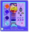 Zestaw do tworzenia biżuterii Koraliki i gwiazdki (DJ09805)