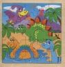 Układanka drewniana Dinozaury 25