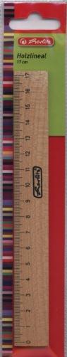 Linijka drewniana 17 cm