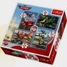 Puzzle 4w1 Planes Podniebne podróże (34205)