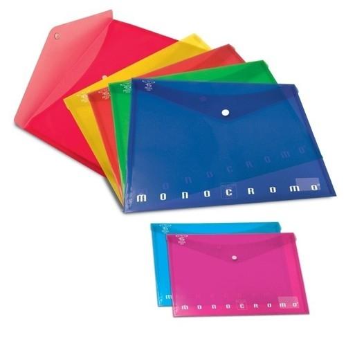 Teczka na dokumenty zapinana zatrzaskiem A4 Pigna Monocromo mix kolorów