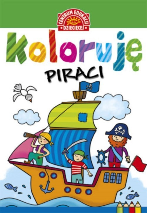 Koloruję Piraci Kolorowanka
