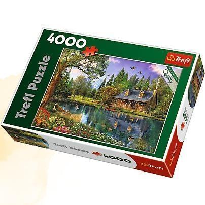 Puzzle 4000 el.Popołudniowa sielanka (45005)