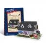 Puzzle 3D: Domki świata - Wielka Brytania, Tea House (306-23105)